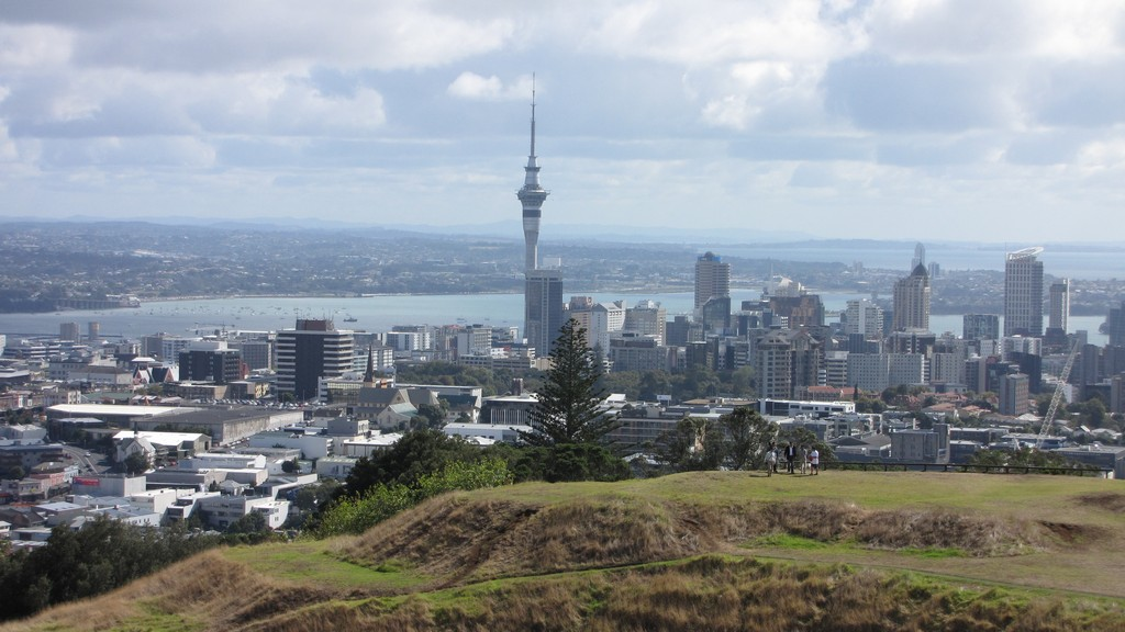 Auckland Central Business District from Mt Eden